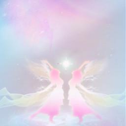 freetoedit fantasyart fantasyworld angels fairies