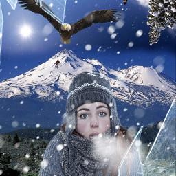 freetoedit winterscenes
