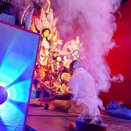 freetoedit photography durgapuja pcreligiousceremony religiousceremony