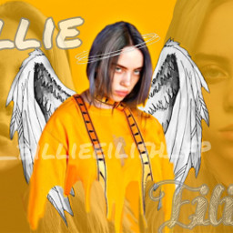 freetoedit billieeilish eilish billie yellow