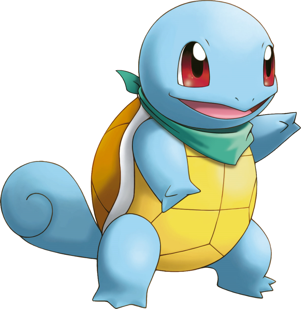 Cartoon Squirtle Dessin Pokemon