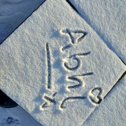myname handwritten snow pchandwriting handwriting