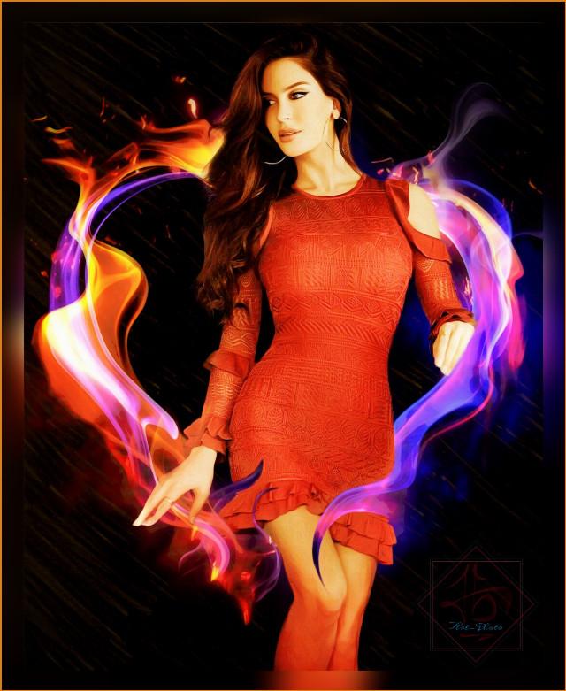 #freetoedit #hot #women #fire #red #black #heart #firegirl #beautiful #beautifulgirl #reddress #reddressgirl #tbgraphics #awesome #dream #color #nicegirl