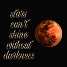 freetoedit stars night moon quote