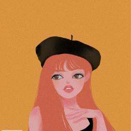 freetoedit illustration portrait lisa style