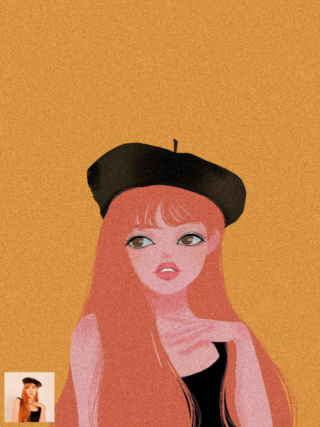 #freetoedit #illustration #portrait #lisa #style #vintage