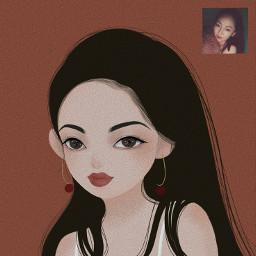 freetoedit illustration illustrator portrait art