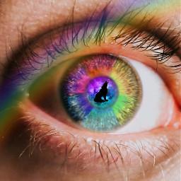 freetoedit eyesrainbow