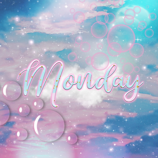 Have a beautiful week started, this week is even better than the previous one ❤️. Never stop editing, creating and doing magic in PicsArt.  #freetoedit #monday #mondaymood #mondaymotivation #mondaymorning #cloud #bubbles #pastelcolors #pastel