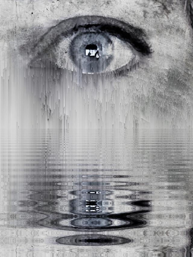 Crying #tears #mirrorlab #blueeye