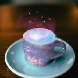 freetoedit cofee galaxy