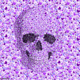 doubleexposure skull picsart madewithpicsart creative freetoedit