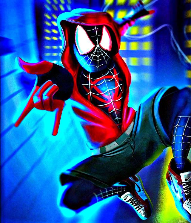Miles Morales #milesmorales #spiderverse #spidermanintothespiderverse #marvelstudios #marvelcomics #sony #hdr