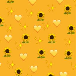 freetoedit yellowflower yellow sunflower background