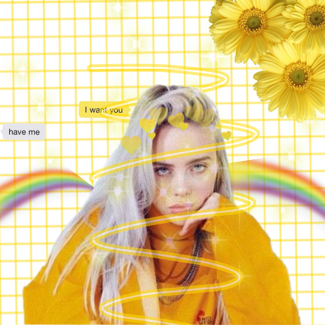 ugh this is so bad  #freetoedit #billieeilish #billie #eilish #billieeyelash #yellowaesthetic #billieeilishaesthetic #yellow