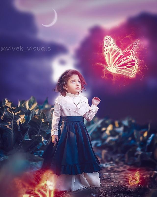 Fire butterfly 🔥🔥#wonderlandmagic  Model - Anahita_hashemzade Edited by me {@vivek_visuals }   #freetoedit #firebutterfly #moon #girl #fantasy #wonderland #artofvisuals #manipulation #clouds #light #visualsoflife #visualartist #artistrecognition #makeawesome