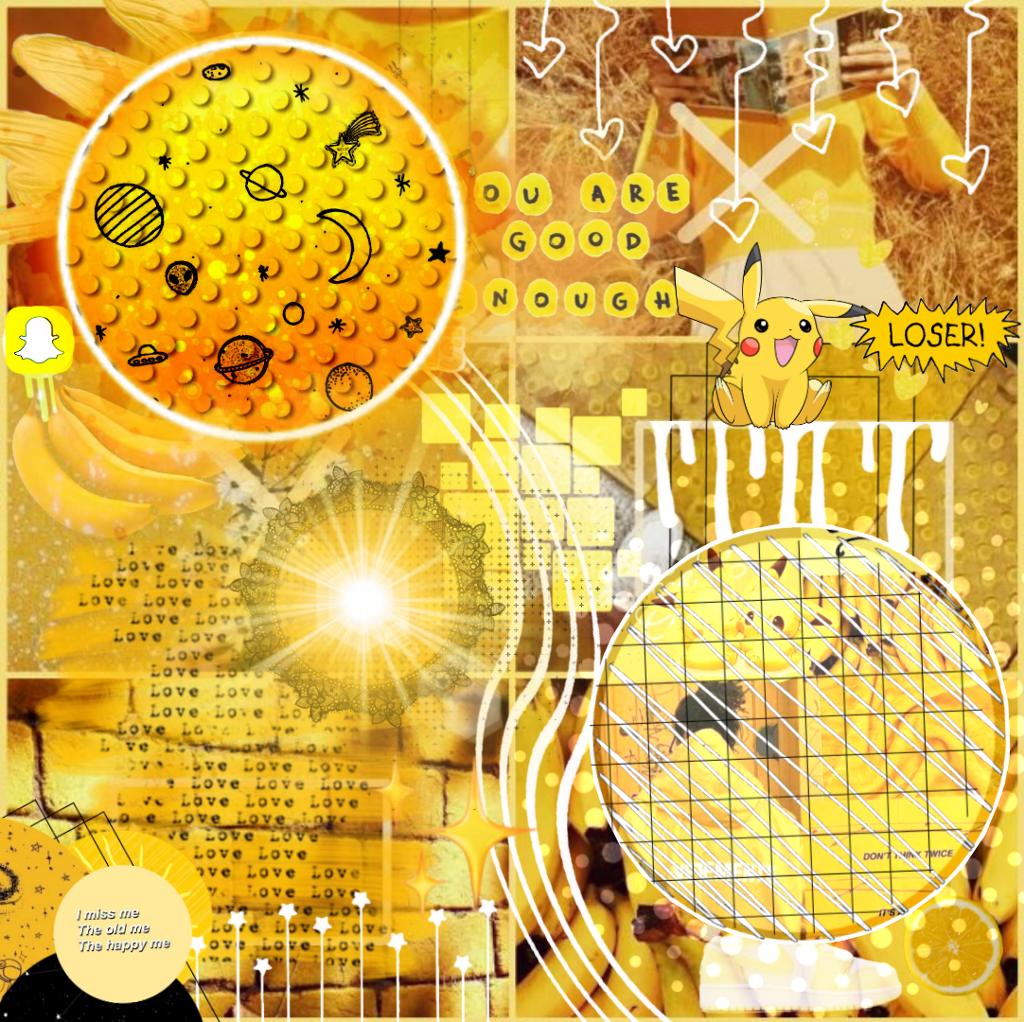 Freetoedit Background Yellow Yellowaesthetic Aesthetic