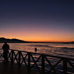 freetoedit sunset izmir turkey city