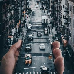 freetoedit city street cars hand