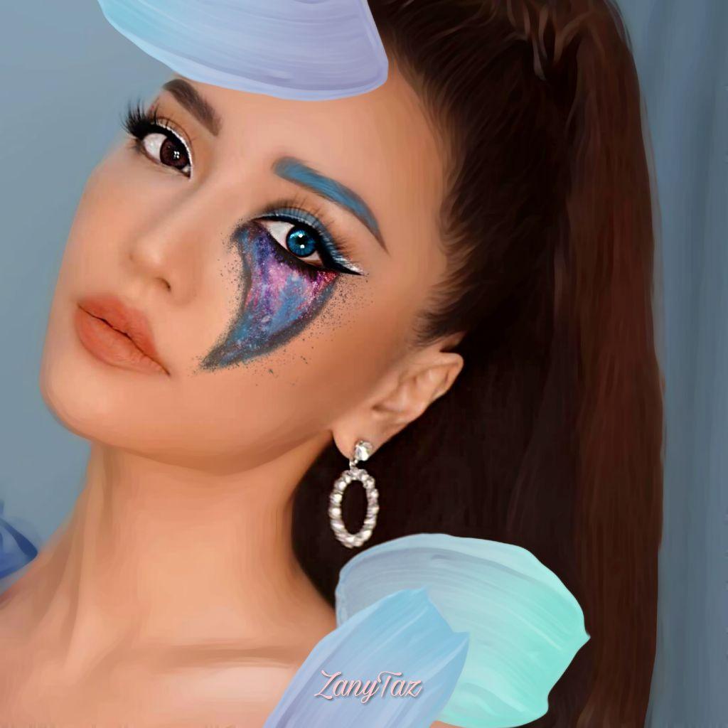 #Tears of #blue 💙💙💙💙  #pastelpaintbrush #freetoedit