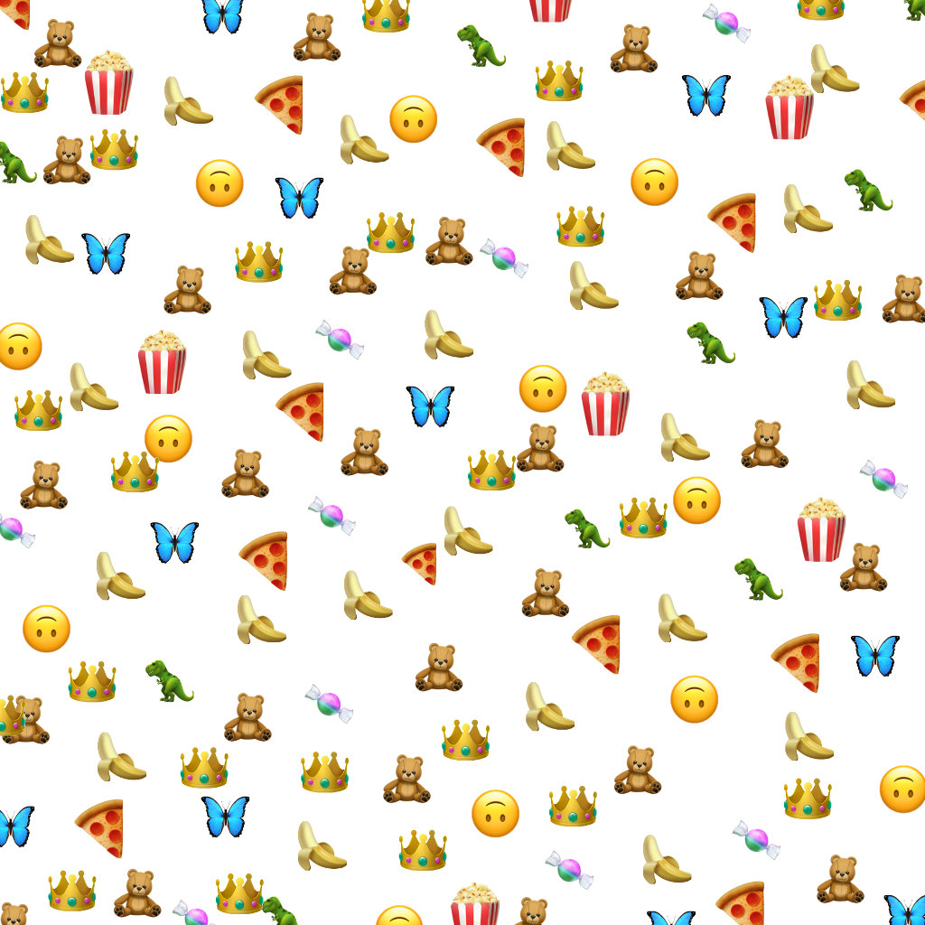 tło emoi emoji - Sticker by My