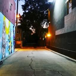 veniceitaly losangeles alley nightphotography sunset