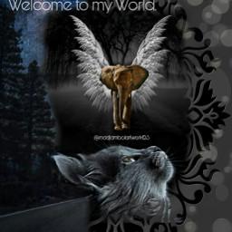 greeting welcometomyworld