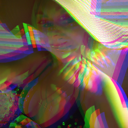throwback tbt colorful glitch love notfreetoeditortake