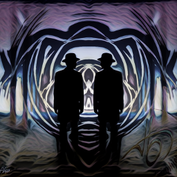 mystic mysterious shadow underworld tbgraphics scary freetoedit