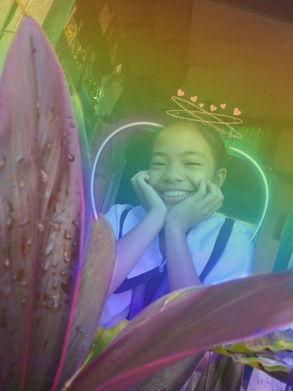 1st time! #rainbow #bff #cute