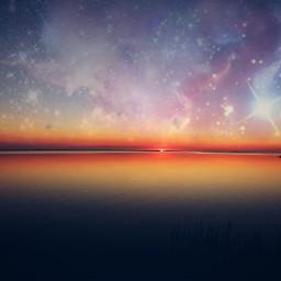 freetoedit nature sunset galaxy travel