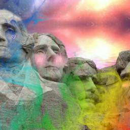 freetoedit rainbow idk imstupid lol ircpresidentsday