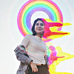 freetoedit glitch drippy watercolor fxeffect
