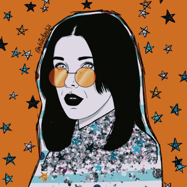 #milliebobbybrown #mydrawing #happybirthday #birthdaygirl #glitterbrush #creativity #madewithpicsart #drawing #becreative @picsart