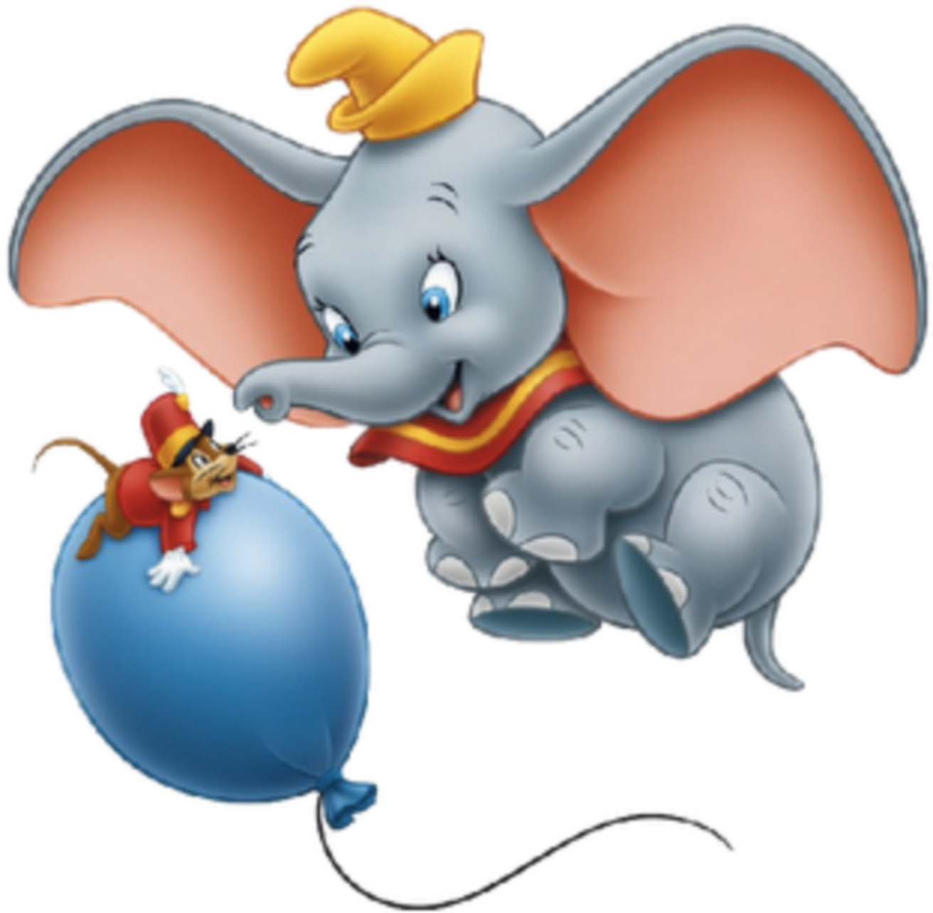 This is a picture of Lucrative Dumbo the Elephant Images