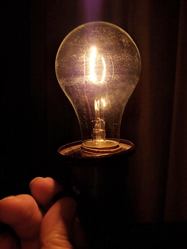 #lightbulb #lamp #light #dark #fingers  #freetoedit