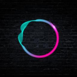 freetoedit circle ring neon frame ftestickers
