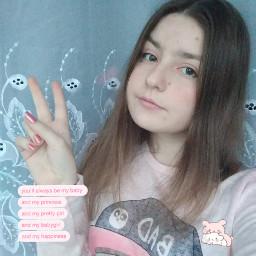 freetoedit girl remix cute pink