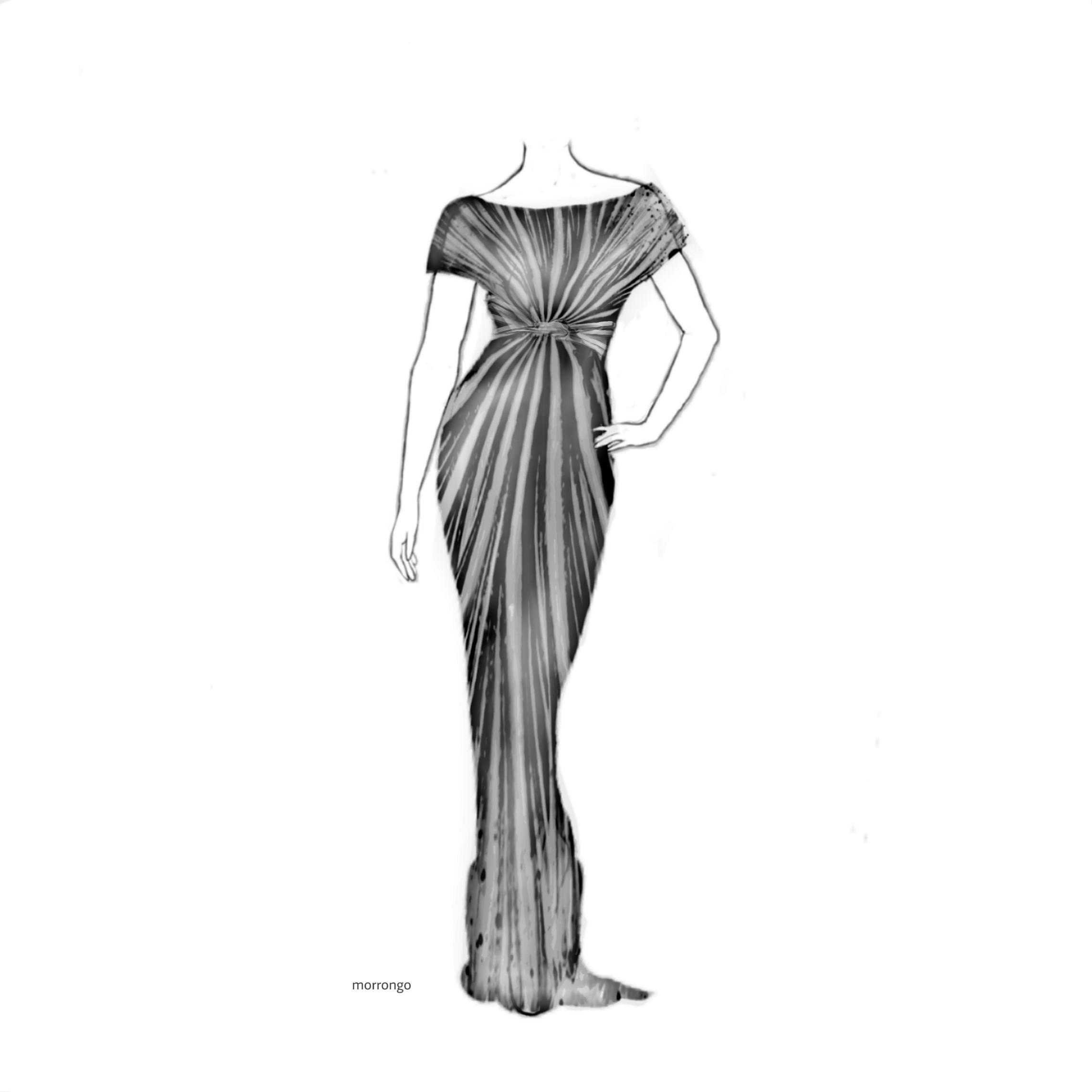 Dress Creative Mydesign Drawing Image By Jorge