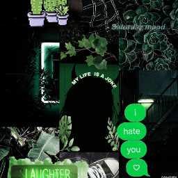 freetoedit wallpaper green aesthetic dark
