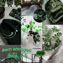 freetoedit aesthetic green dark neon