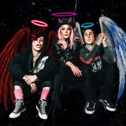 freetoedit yungblud cool hot wow src11minutesfanart YUNGBLUD 11minutes halsey travisbarker
