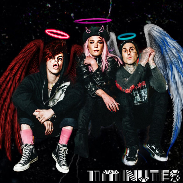 #freetoedit #11minutes #scr11minutes #yungblud #cool #edit #music #angel #demon #good #bad #love #wings #fotoedit #realpeople #idk