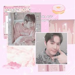 freetoedit exo aesthetic pink ohsehun