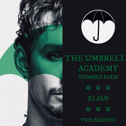 klaushargreeves klaus number4 theumbrellaacademy