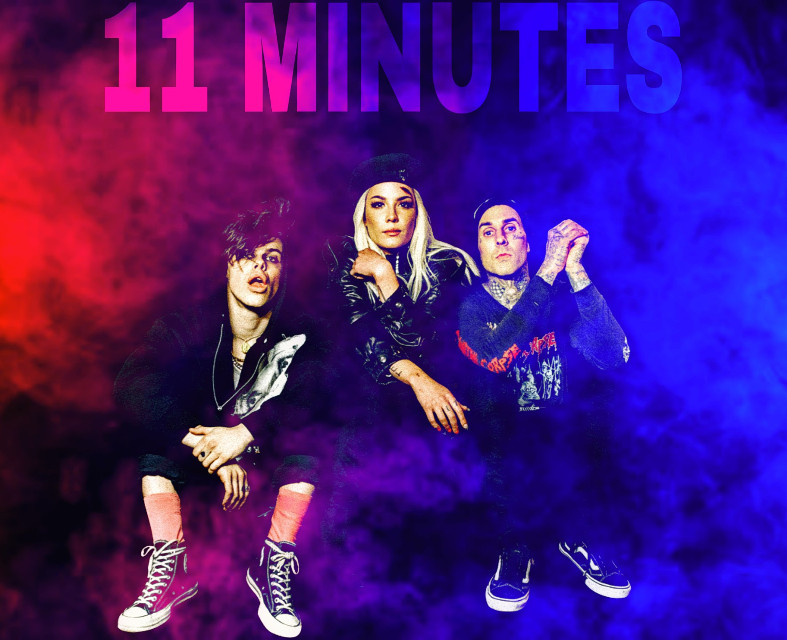 #freetoedit #11minutes #yungblud #halsey #travisbarker #remixed #challenge #edit
