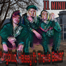 freetoedit halsey yungblud travisbarker halseymusic src11minutesfanart YUNGBLUD 11minutes