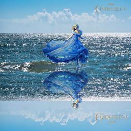 freetoedit cinderella sea magic disney