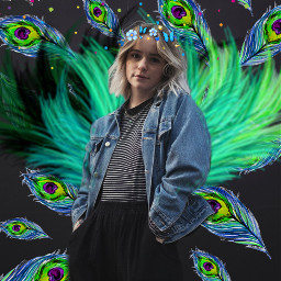 freetoedit carnaval girl colors