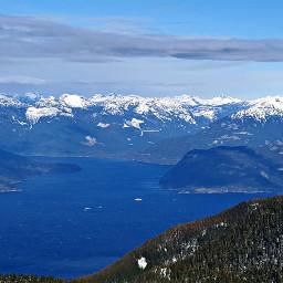 landscape mountaintop mountainviews vancouver canada